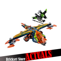 LEPIN 14044 Aaron's X bow Nexo Nexus Knights Building Blocks Bricks Toys DIY For Children Compatible with legoINGly 72005
