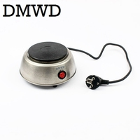 Portable household electric coffee furnace oven mini 500W stainless steel small coffee stove stew pot cooker machine US EU plug