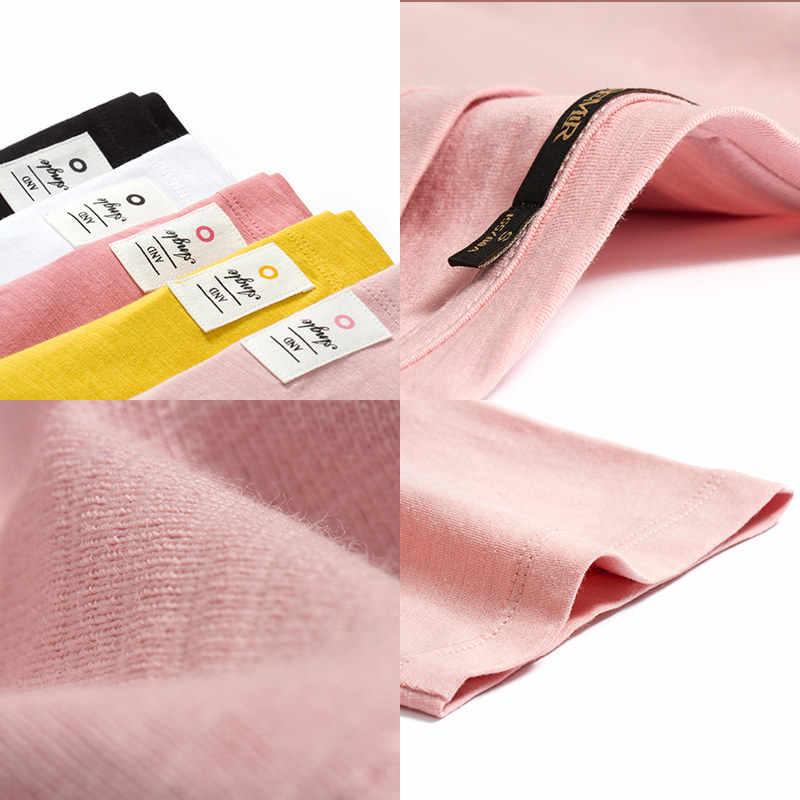 SEMIR футболка Женская Новинка 100% хлопок футболки для женщин s 2019 vogue винтажные футболки хлопок для женщин с круглым вырезом короткий рукав топы