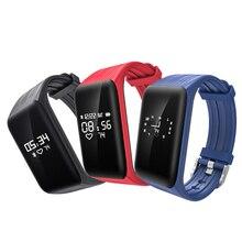 2017 Smart Bracelet K1 Smart Wristband Watch Fitness Tracker Heart Rate Monitor Futural Digital jiu13