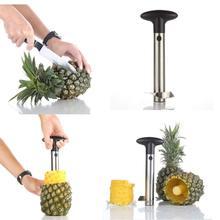 METABLE 2PACK Stainless Steel Pineapple Corer Slicer Peeler for Diced Fruit Rings All in One Tool