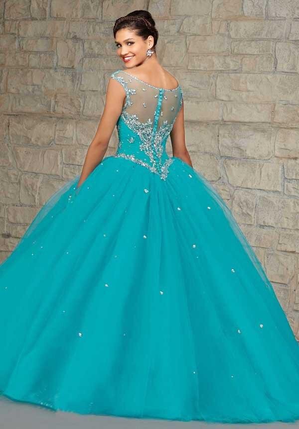 Ball Blue Green Dresses