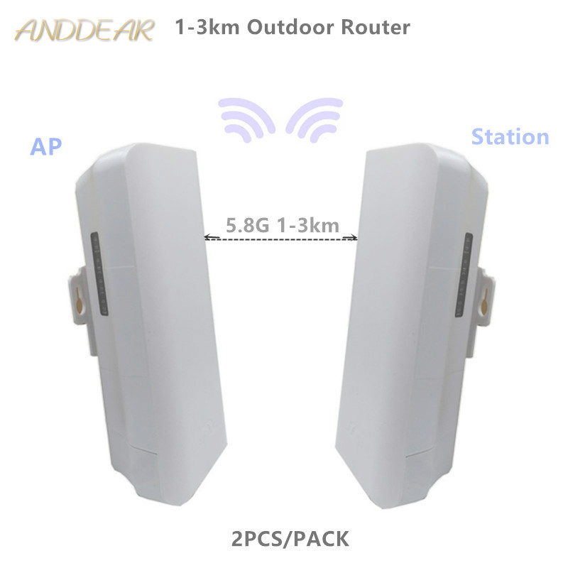 9331 206 1-3km Chipset WIFI Router WIFI Repeater CPE Long Range 300Mbps5.8GOutdoor AP Router  AP Bridge Client Router Repeater