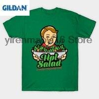 T-Shirt GILDAN 100% algodão O-pescoço T-shirt impresso Hot Salada