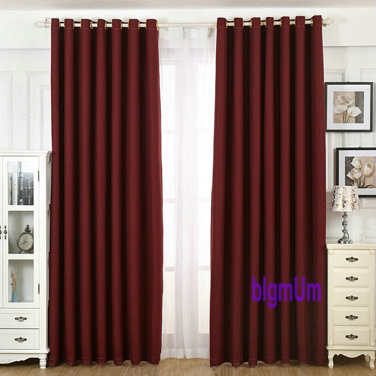 image curtains blackout of best windows your red preset white color for basic and