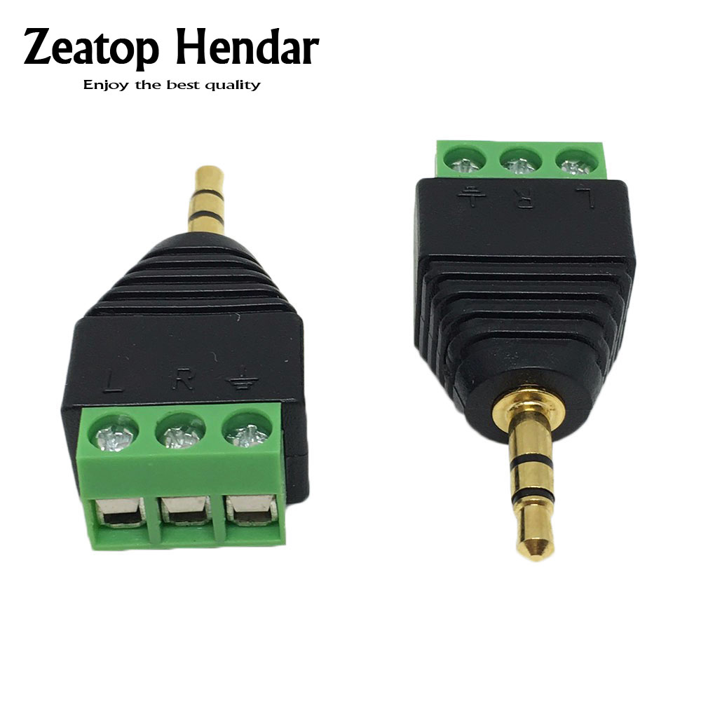 Buy 1pcs Usb 20 A Male To 5 Pin Screw Connector Power Products Accessories 3 Plug Wiring Te 10pcs Video Av Balun 35mm 1 8stereo Terminal