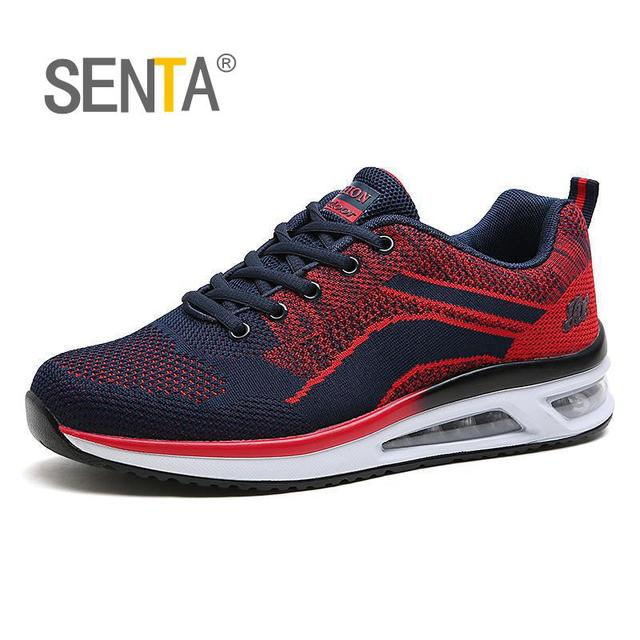 SETA summer outdoor sports breathable flywire cushioning air-cushion shoes sneakers men 2017 running shoes men's sports