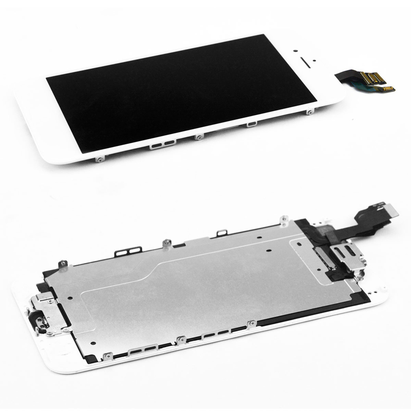 Complete LCD For iPhone 6 6S Plus Display LCD Touch Screen Digitizer Assembly Full Set Ecran with Home button Front Camera in Mobile Phone LCD Screens from Cellphones Telecommunications
