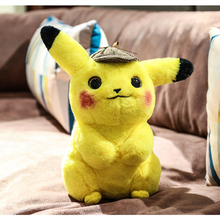 Detective Pikachu Plush toy kawaii Exquisite soft doll product Movie character Stuffed Japan Anime Game toys birthday present