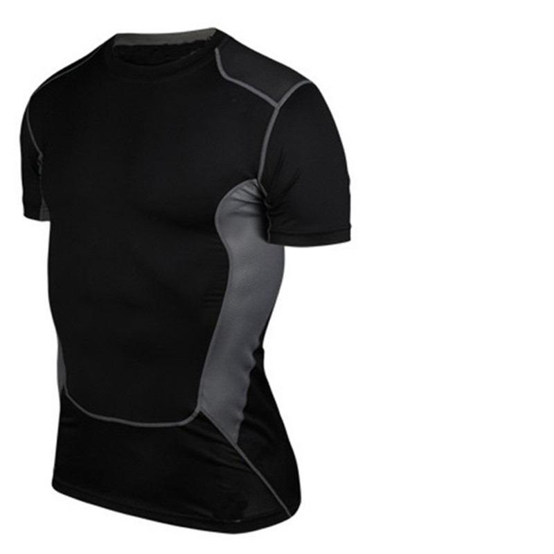 Men Compression Armor Base Layer Top Long Sleeve Thermal Gym Sport Shirt Cycling Clothes, Shoes & Accessories