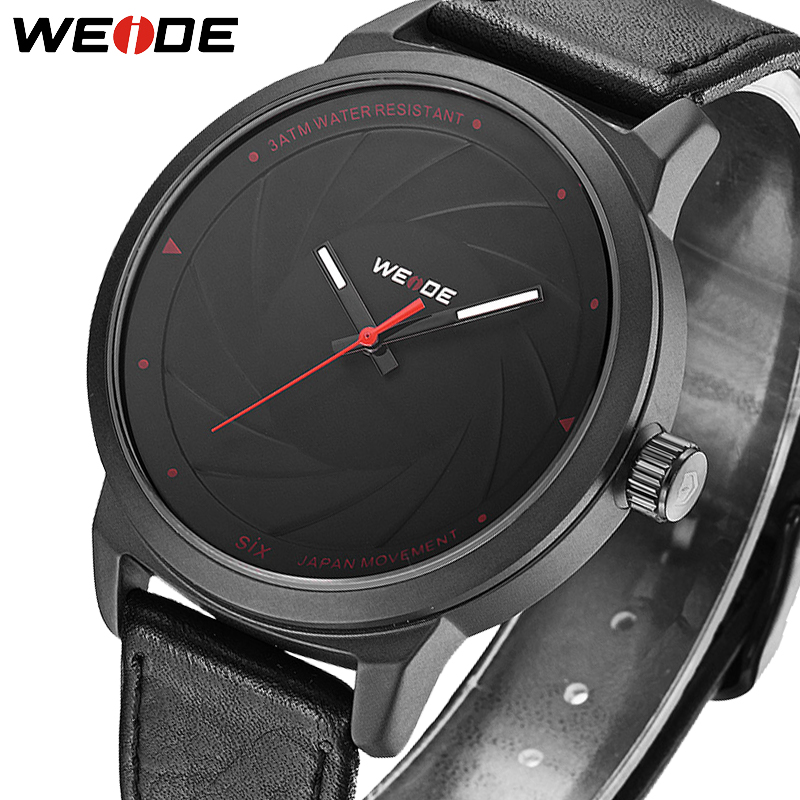 2018 Top Brand Luxury WEIDE Fashion Casual Man Mens Watches Sport Leather Business Quartz Watch Men Wristwatch Relogio Masculino weide fashion casual quartz watch men sport watches famous luxury brand stainless steel military army relogio masculino wh3305