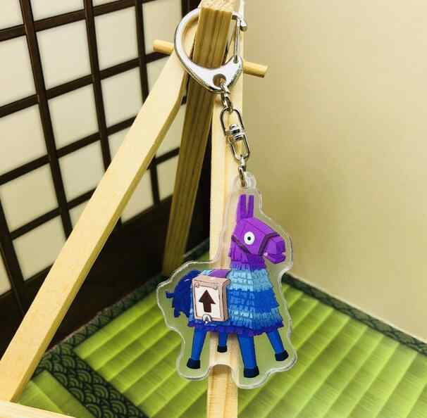 Fort Night Battle Royale Acrylic Model Toys Fortnight Game Accessories Action Figure Metal Fortress Night Keychain Xmas Gifts