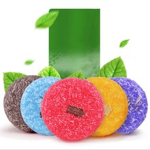 New Refreshing Nourishing Pure Plant Essential Oil Shampoo Soap Moist Hair Hairs Shampoos Care Tool