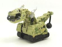 16 Different Style Dinotrux Dinosaur Truck Removable Car Mini Playmobil Dolls