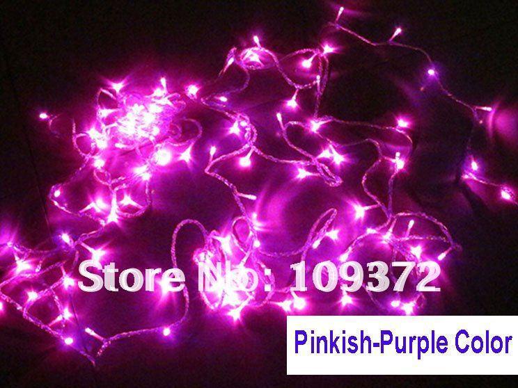High Quality 10m 8 Colors 100 Led Novelty String Lights
