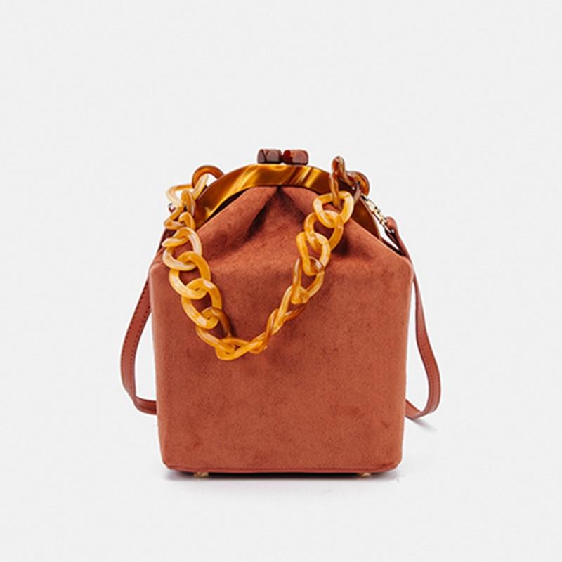 Unique Channel Design Box Shoulder Bag Crossbody Bags for Women Fashion  Star Show Leather Handbags Lady Messenger Bag Sac A Main
