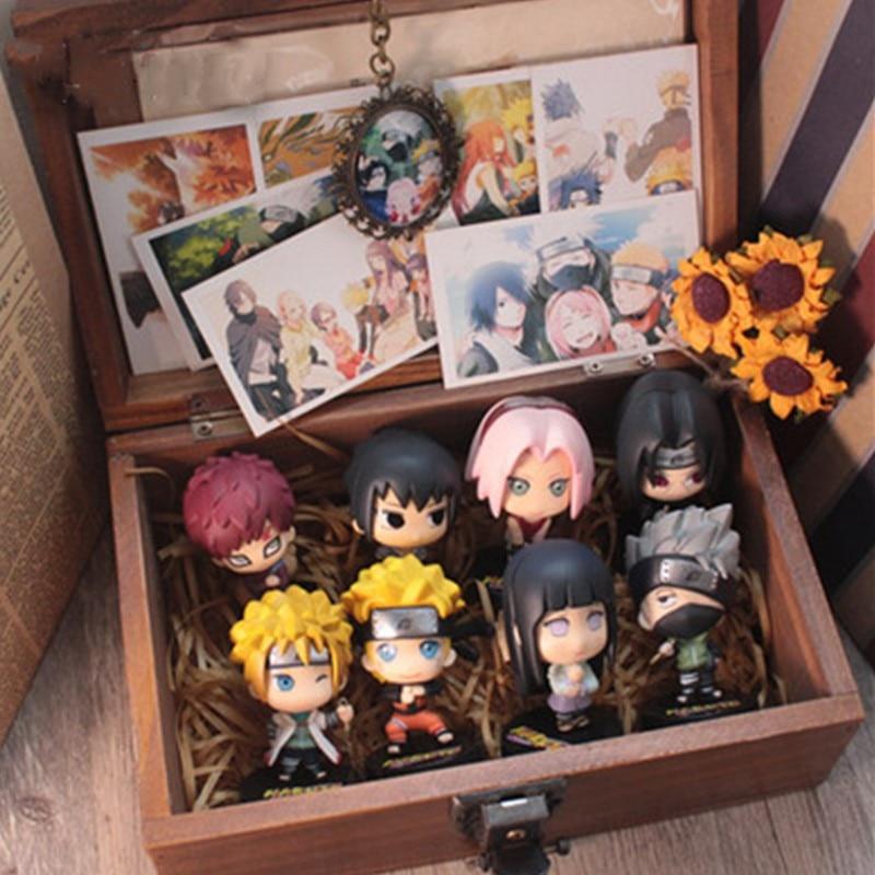 Naruto Shippude:Ultimate Ninja Storm Uzumaki Naruto Namikaze Minato Keychains Pendant Valentines Gift Action Figure Toy D731 все цены
