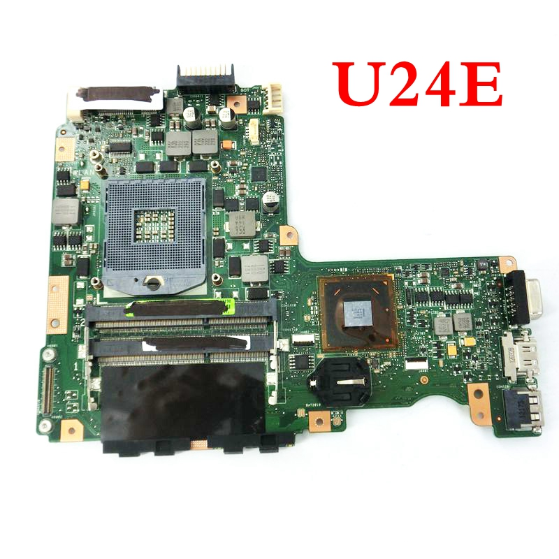 U24E Mainboard REV2.0 For ASUS U24 P24E U24E U24A Laptop Motherboard HM65 DDR3 MAIN BOARD 100% Tested