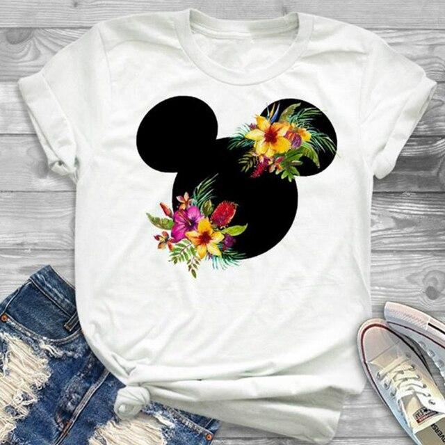 Las Mujeres Impreso De Dibujos Animados Chica Camiseta Tumblr Grphic T Shirt Hipster Señoras Lindo Tee Tops