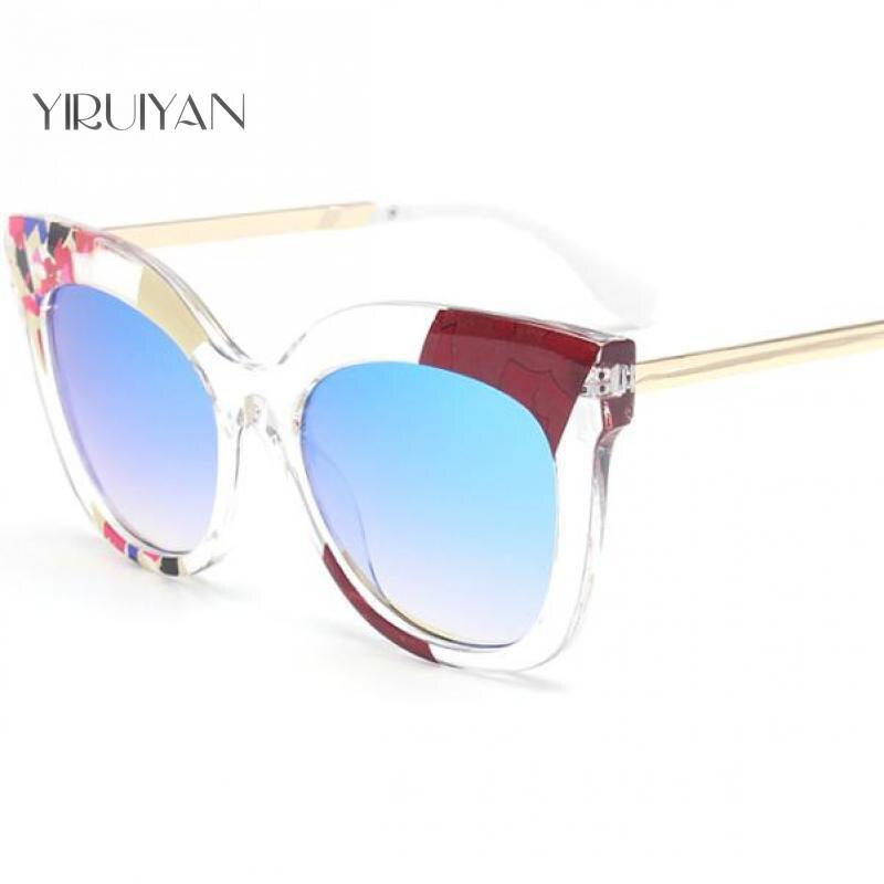 c04 Candy Großhandel c05 Vintage Designer Damen 5 c03 C01 c02 Sonnenbrille Frauen Stücke Eye Weiblichen Farbe Sonnenbrillen Brillen Cat Zubehör gBR5qUw5