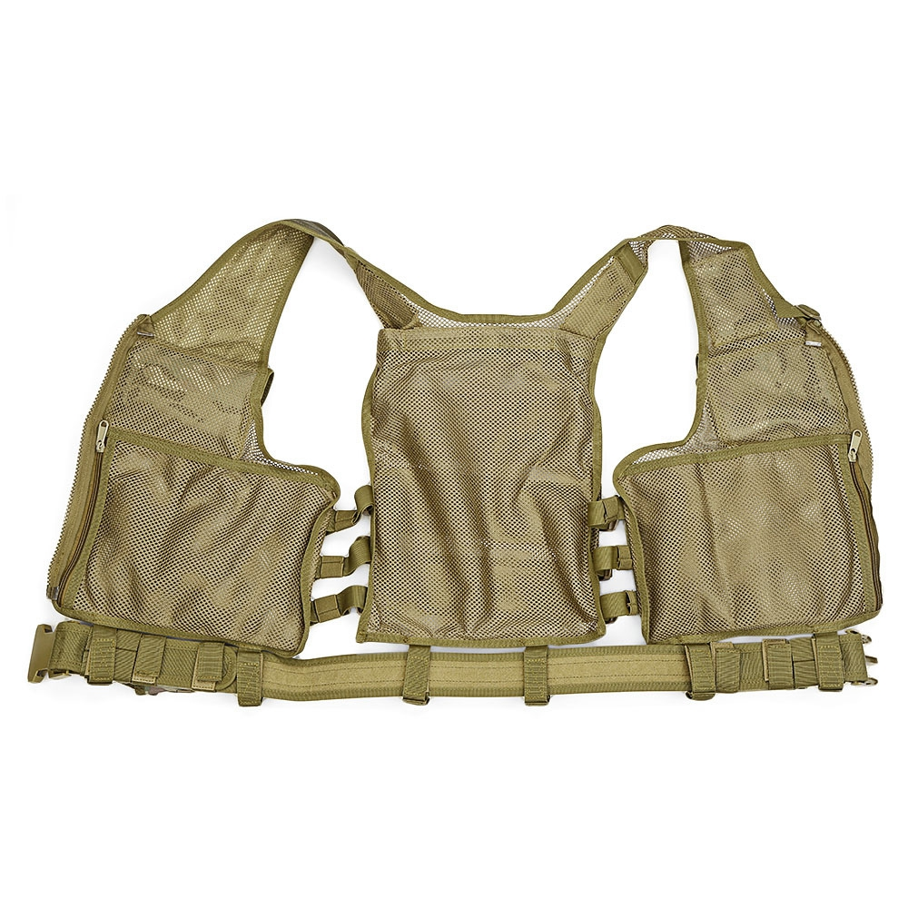Outdoor Tactical Vest Men Military Tactical Vest Hunting Camouflage Vest Body Armor Molle Equipment Jungle Shoulder Straps Vests (3)