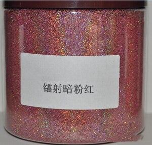 Image 4 - 50グラム/バッグ0.2ミリメートル (1/128。008) グリッター粉末 ホロディスプレイネイルパウダー顔料パウダー用粉末12色