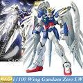 Gaogao модель MG Gundam W крыло нулевой EW XXXG-00W0 бесконечные вальс ангел 1/100 масштаб фигурки аниме робот собранные игрушки