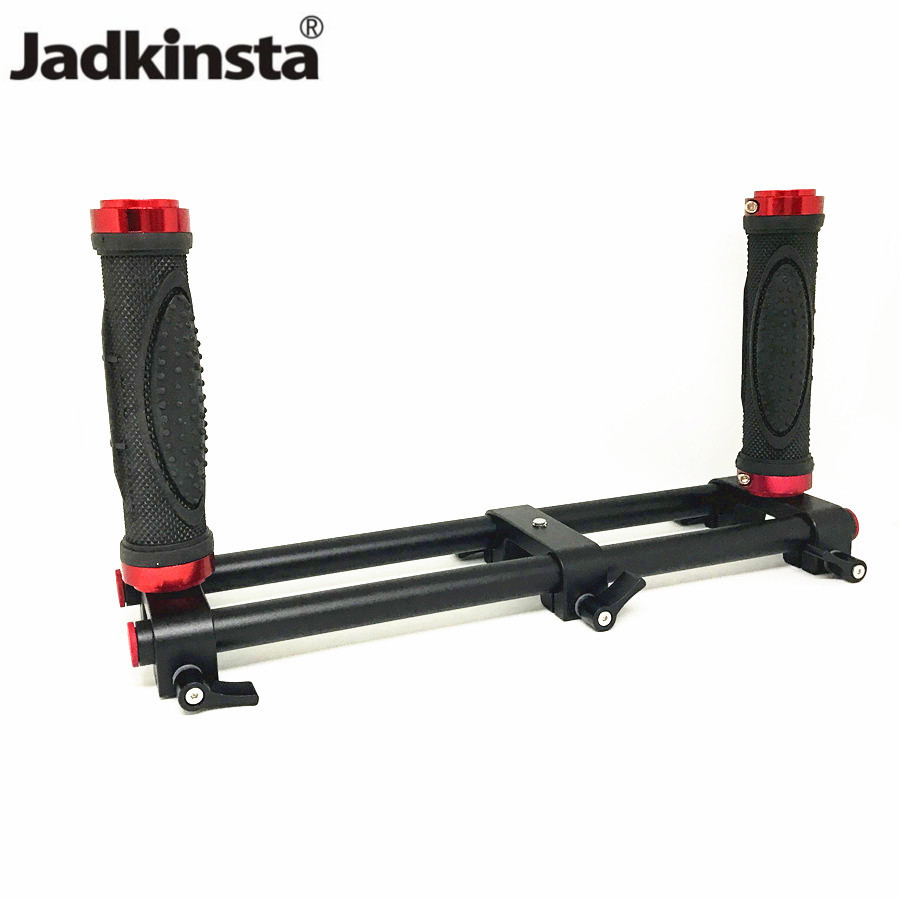 Jadkinsta Camera Dual Grip Handheld Extended Handle Gimbal Stabilizer Cage Rig Accessory for Zhiyun for Feiyu
