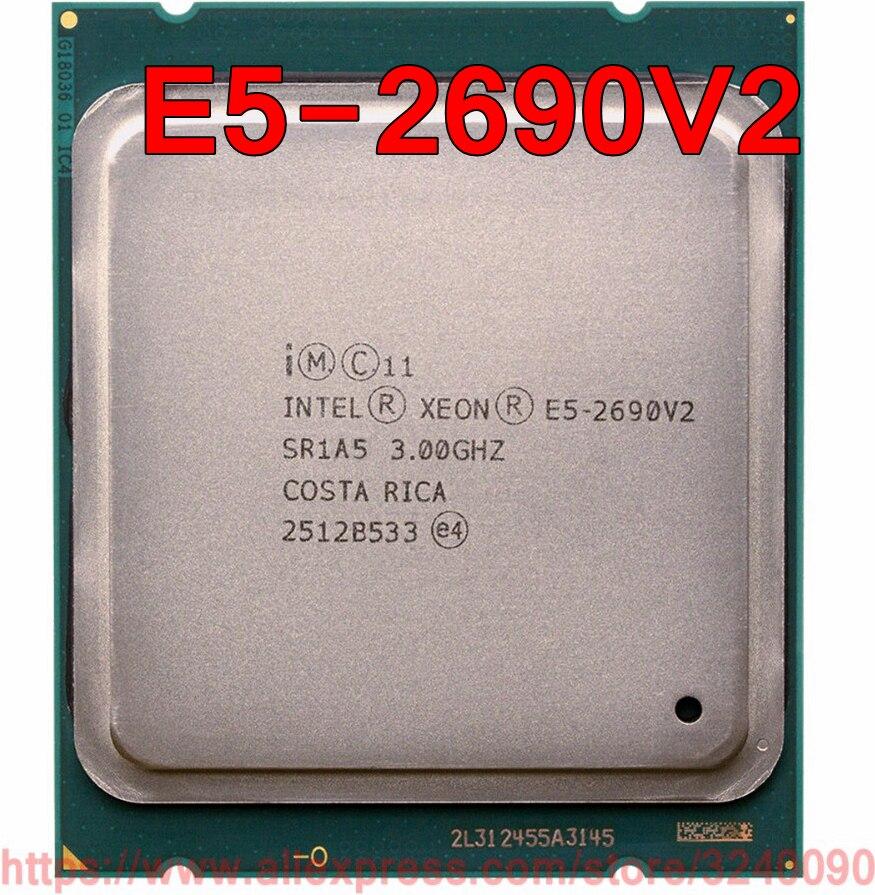 Intel Xeon CPU E5 2690V2 SR1A5 3.0GHz 10 Core 25M LGA2011 ...