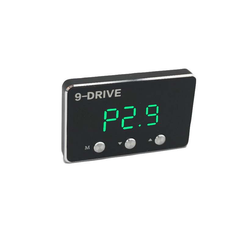 Car Pedal commander Strong Booster 9 mode selective LED screen adjustable Car throttle controller Auto for