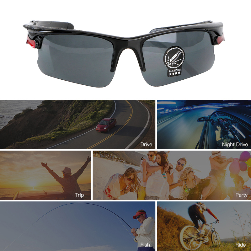 Image 5 - Car Night Vision Glasses Driver Goggles Polarizer Sunglasses For Audi A3 A4 A5 A6 A7 A8 B6 B7 B8 C5 C6 TT Q3 Q5 Q7 S3 S4-in Driver Goggles from Automobiles & Motorcycles
