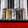 Imitação de mármore adesivos PVC auto-adesivo papel de parede móveis renovação adesivos à prova d' água-resistente ao desgaste cabinets-632
