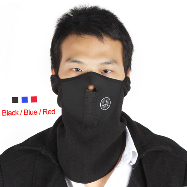 Cheap Neoprene Bike Bicycle Winter Cycling Half Face Mask Neck Warmer For Ski Snowboard Motorcycling