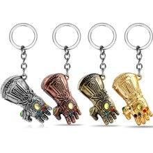 New Marvel Avengers 3 Infinite War Guarding Gloves Fist Keychain Pendant bts keychain anime custom couple