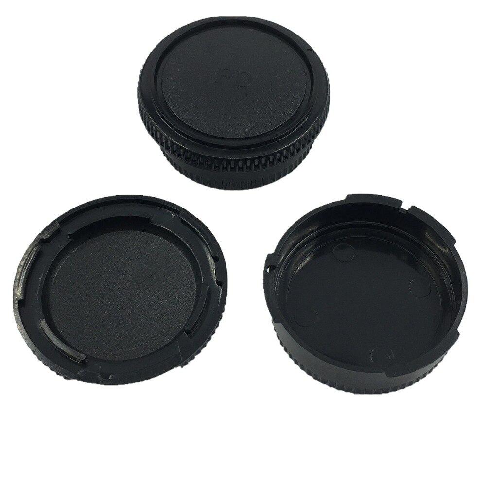 LXH 2-pack framkropps kroppslock och bakre linsskyddslock till Canon - Kamera och foto - Foto 4
