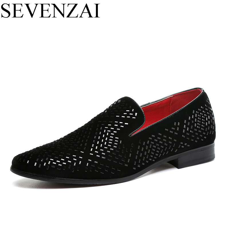 men dress shoes luxury brand rhinestone studded loafers cool poined toe italian moccasins spiked diamond ballet flats for men vintage shoes black moccasins men studded luxury brand loafers high quality fashion ballet flats casual oxford shoes for men