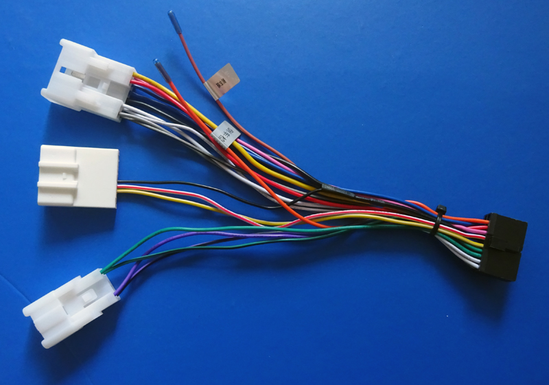 online buy whole stereo wiring harness from stereo stereo wiring harness adaptor power cable iso radio plug for toyota wiring harness wire cable connector