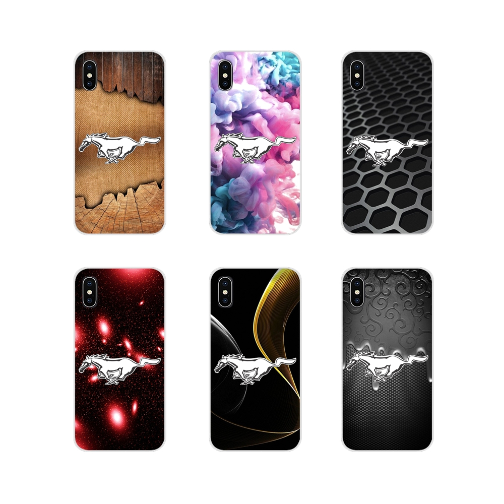 Ford Mustang <font><b>GT</b></font> Concept <font><b>Boss</b></font> Logo Silicone Phone Bag Case For Samsung Galaxy S4 S5 MINI S6 S7 edge S8 S9 S10 Plus Note 3 4 5 <font><b>8</b></font> 9 image
