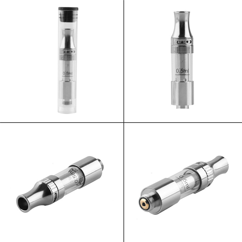 Amigo vape Liberty V1 Vaporizer CBD clearomizer 0 5ml Atomizer Top airflow 1 6ohm dual coil