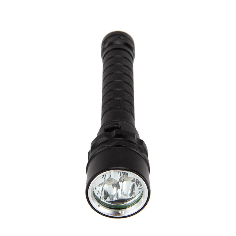 New Underwater 100M 3x XPE PURPLE UV LED Light Lamp Scuba Diving Flashlight Torch Dive Light