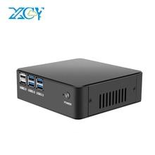 XCY Mini PC Intel Core i7 5500U i5 5200U i3 5005U Windows Linux HDMI VGA 300M WiFi Powerful Minipc Desktop Household Office
