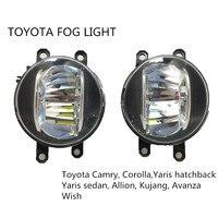 LED Fog Light 4inch Round 20W For Toyota Camry Corolla Yaris LED DRL Fog Light For