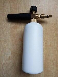 Image 4 - car washer snow bubble foam gun with Lavor Elitech Champion Sterwins connector 100% copper washer foam generator foam sprayer