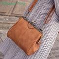 4 Colors Fashion Simple Messenger Bags Europe And America Style Vintage Shoulder Bag Vintage Crossbody Bag For Girls