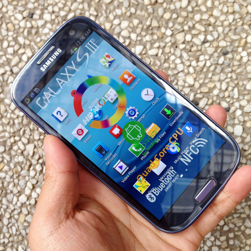 samsung galaxy s3 blue. aliexpress.com : buy original refurbished samsung galaxy s3 i9300 siii mobile phone unlocked 3g wifi 8mp android from reliable samsung blue