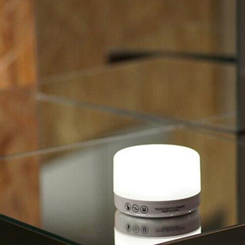 ledgle controle de toque noite luminaria lampada
