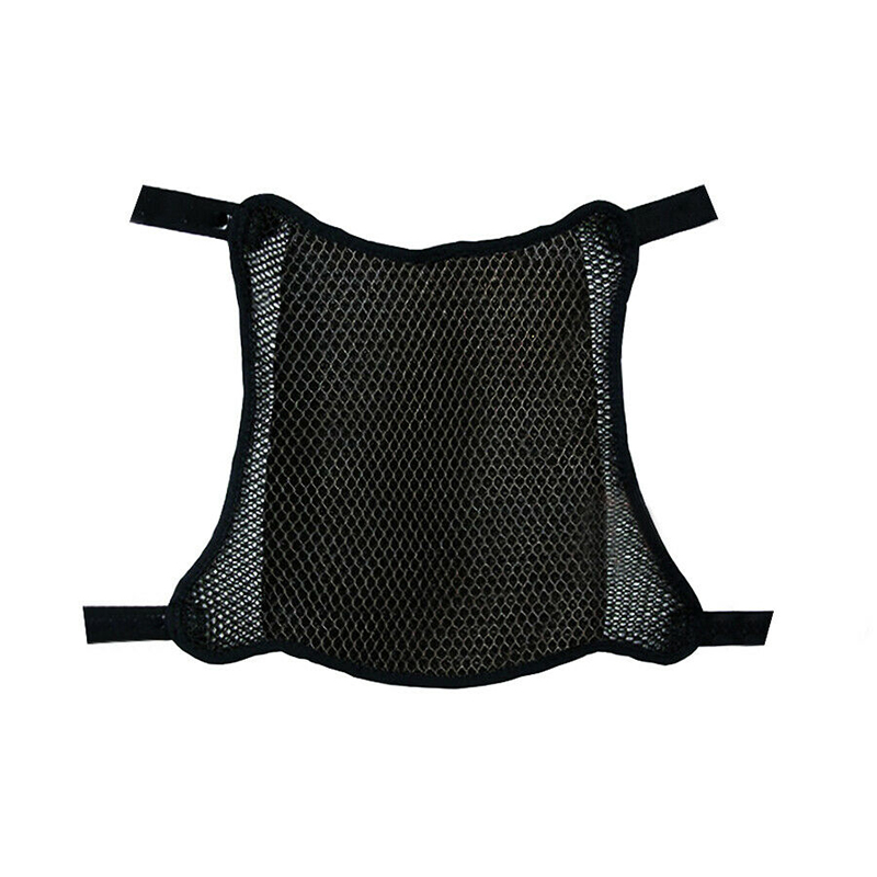 Seat-Cover Sunscreen-Pad Universal-Parts-Accessories Motorcycle-Replacement 3d Mesh Black