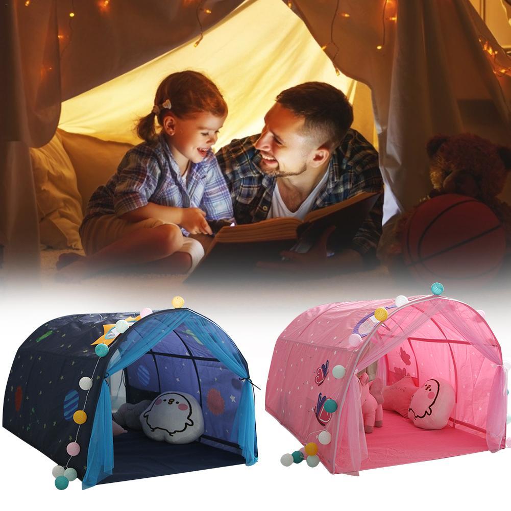 Kinder Bett Zelt Spiel Haus Baby Hause Atmungs Zelt Junge Mädchen Sicher Haus Tunnel Outdoor Camping Baby Strand Zelt - 6