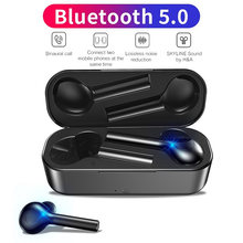 H&A Bluetooth 5.0 Earphones For All Smart Phone Mini Wireless Headset Headphones For Samsung For Xiaomi Huawei Sports Headset(China)