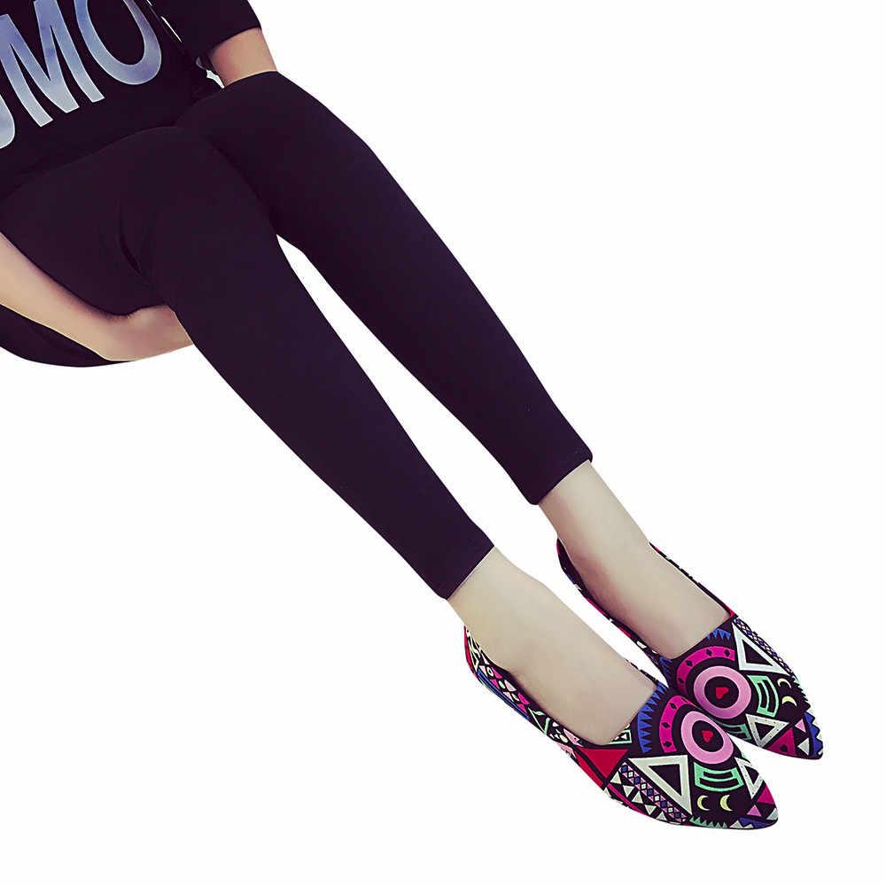 """Giày đế bằng Nữ Mùa Thu Trượt Giày Cho Nữ Cho Nữ Nhiều Màu Nữ Zapatos Mujer """"Cho Nữ Đế Bằng Nữ Người Phụ Nữ"""